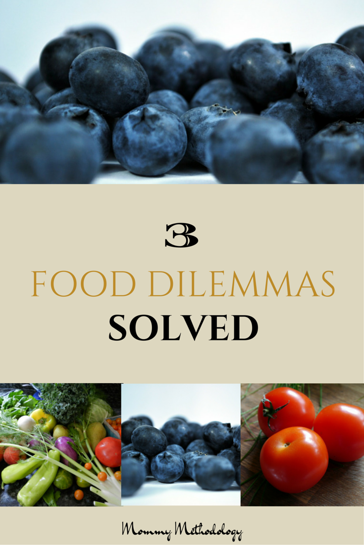3 Food Dilemmas Solved - Tips on Freezing & Thawing Fruits & Vegetables, and ripening avocados