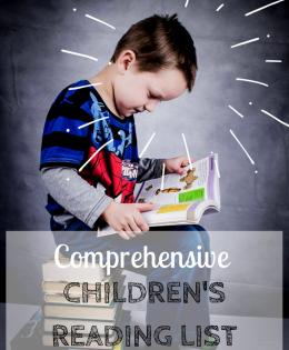 Comprehensive Reading List For Children