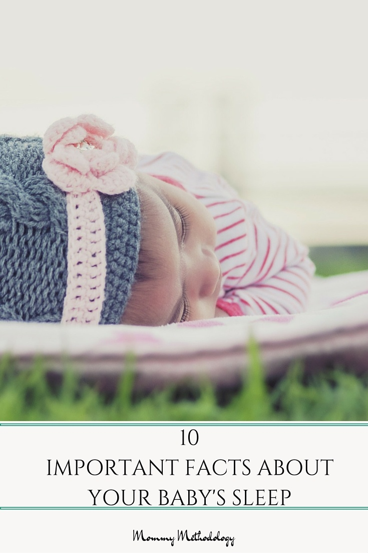 In considering your Baby's lifelong health, these 10 Important Facts About Your Baby's Sleep are a must read!