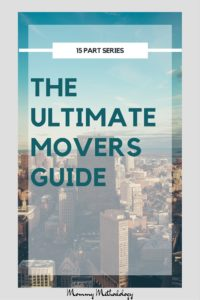 The Ultimate Movers Guide 15 part series