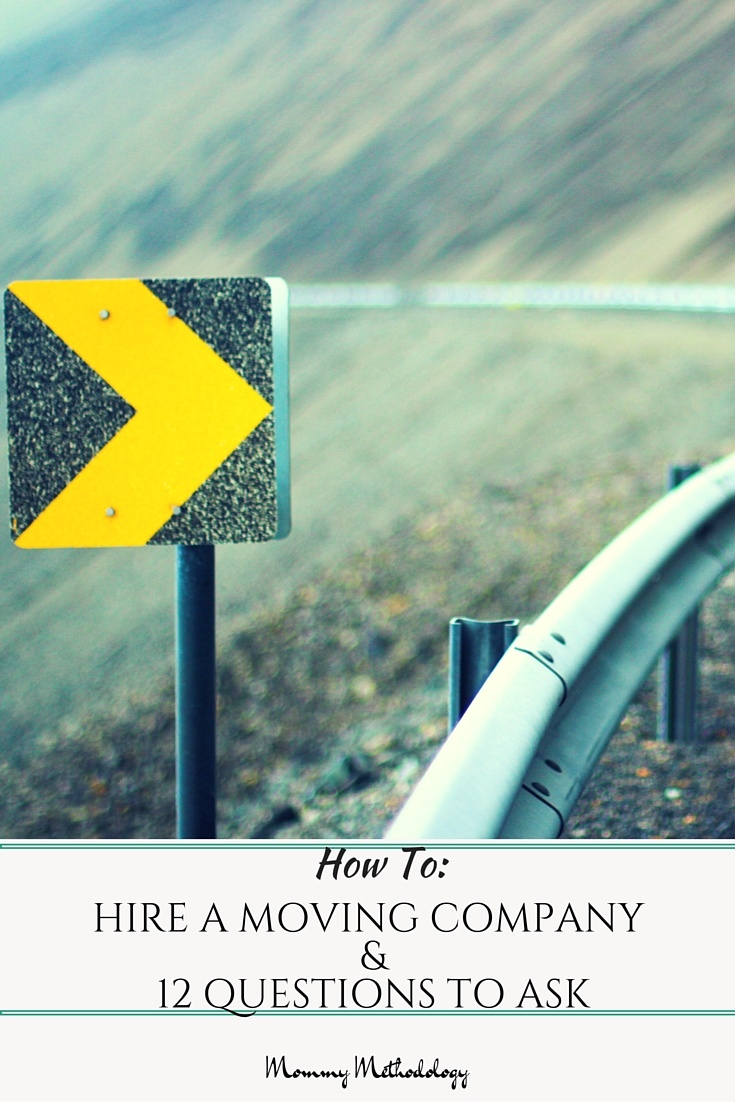 How To Hire A Moving Company and 12 Questions To Ask - Moving is a stressful time. Hiring a moving company can either alleviate a measure of stress or add to it. Follow these tips; feel confident in your choice.