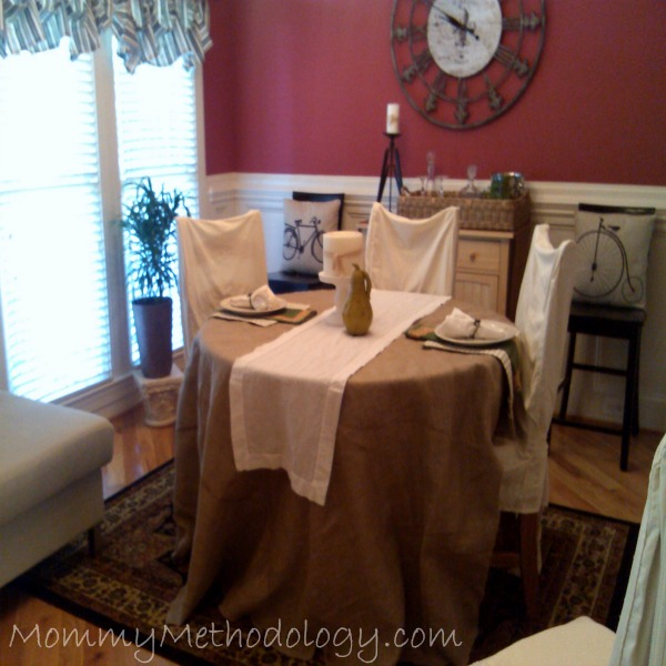 Fall ~ Winter Dining Room