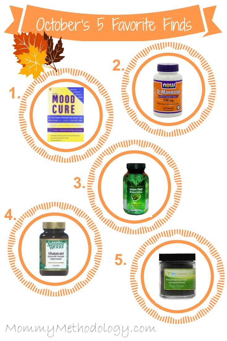 October's 5 Favorite Finds