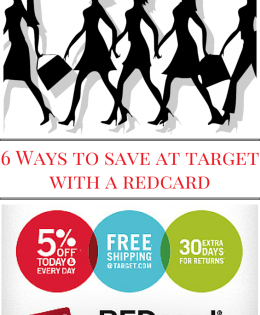 6 Ways You Can Save at Target With A REDcard