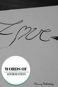 WORDS OF AFFIRMATION (1)