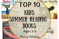 Top 10 Kid's Summer Reading Books