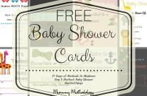 Day 3 Method: Baby Shower