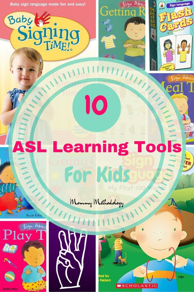 Excellent Resource: 10 ASL Learning Tools For Kids & #infographic detailing benefits of signing with ALL children