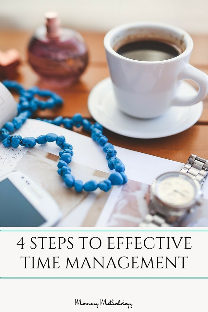 4 Steps to Effective Time Management. Learn how to invest time wisely for a happier, fulfilled life. #timemanagement