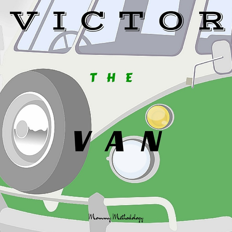 Victor the Van Kindergarten Vocabulary Word Story and Coloring Book by Tiffany of Mommy Methodology