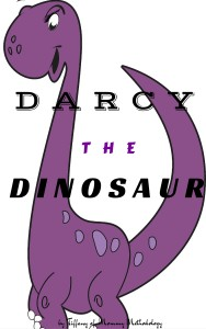 Darcy the Dinosaur cover page