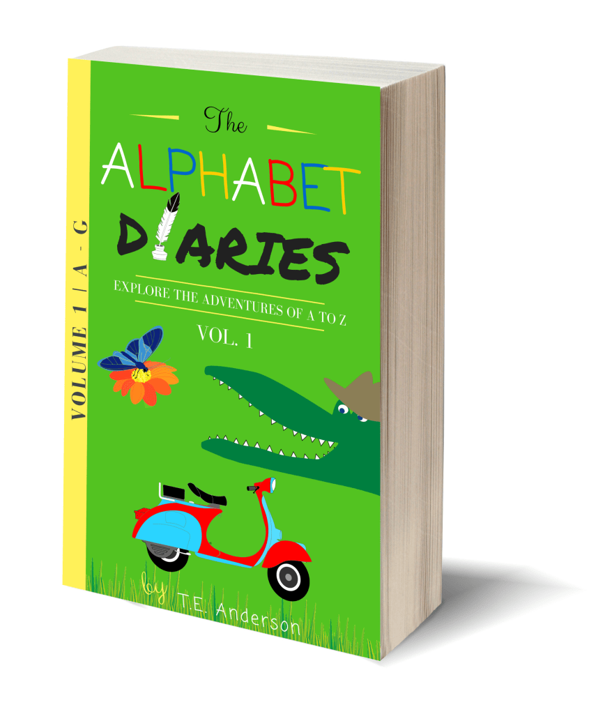 Looking for a cool, fun, educational way to teach your pre-k to 1st grader their vocabulary? This ebook is a must! The Alphabet Diaries - Volume 1 includes letters A-G with original stories & over 75 pages of printables like coloring pages!