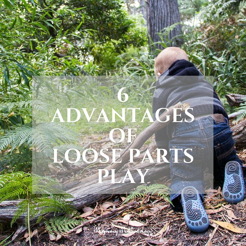 6 Advantages of Loose Parts Play - FB post   Loose Parts Play What Is It? Why is it important? See list of loose parts and 6 advantages. You'll want to engage in loose parts play after reading this!