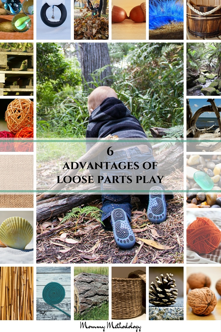 6 Advantages of Loose Parts Play   Loose Parts Play What Is It? Why is it important? See list of loose parts and 6 advantages. You'll want to engage in loose parts play after reading this!