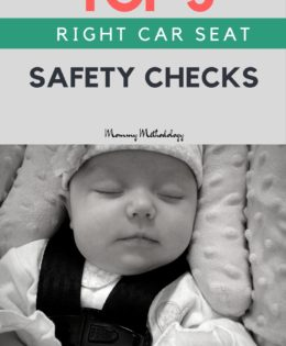 TOP 5 RIGHT CAR SEAT SAFETY CHECKS