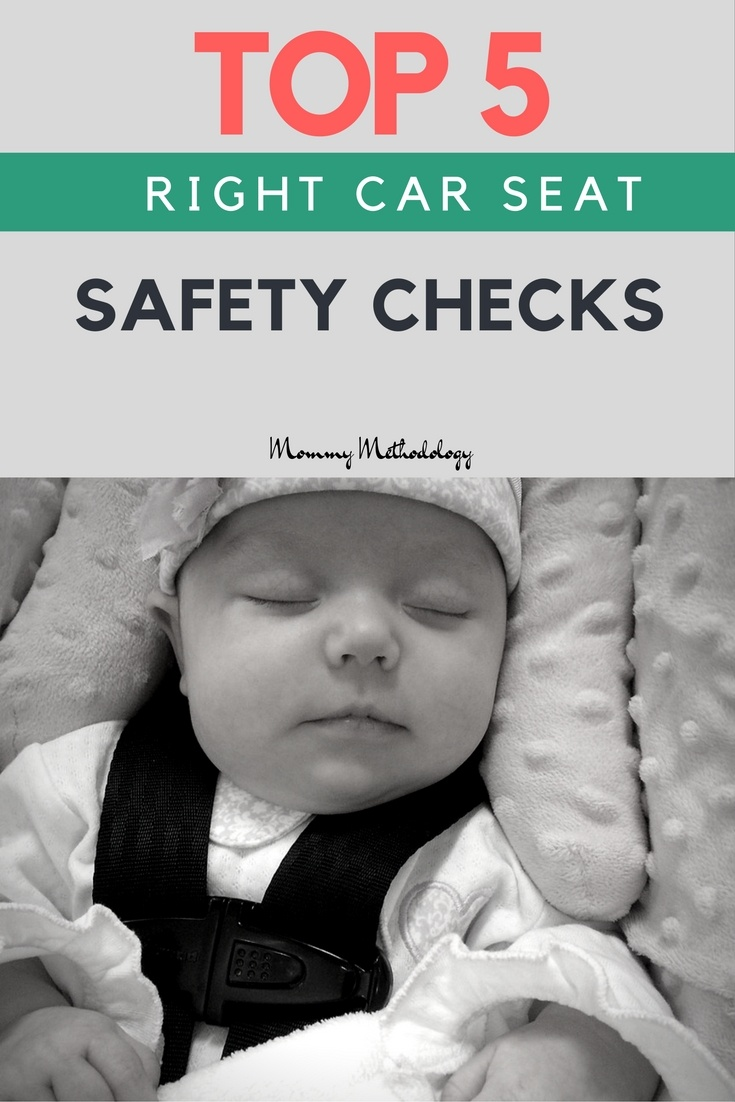 Did you know, a whopping 73 % of car seats are not installed or used correctly! Is there a way to consistently lower those percentages? | Top 5 Right Car Seat Safety Checks